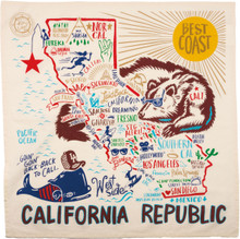 California Republic Dish Towel