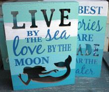 Live by the Sea, Love by the Moon - Mermaid