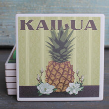 Kailua Pineapple coaster