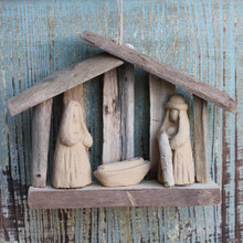 Driftwood Nativity Ornament