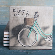 Enjoy the Ride Bicycle Coaster