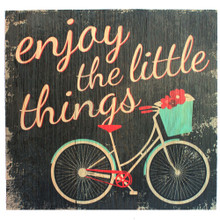 Enjoy the Little Things - Bicycle