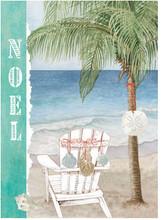 Noel Adirondack Chair Christmas Card