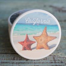 CA Starfish on the Beach car coaster