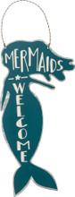 Mermaids Welcome Tin