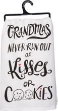 Grandmas Never Run Out of Kisses or Cookies