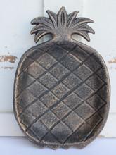Pineapple Cast Iron Dish