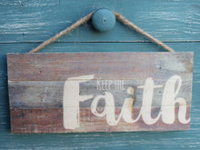 Faith - Made in the USA wood sign