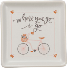 Where You Go, I Go Trinket Tray