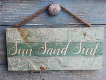 Sun, Sand, Surf Hanging Sign