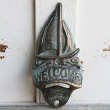Sailboat Welcome / Wall Mount Bottle Opener