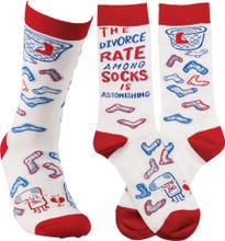 The Divorce Rate Among Socks is Astonishing