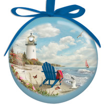 Light Up - Rays of Hope Lighthouse Ornament