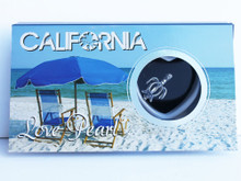 California Sea Turtle Love Necklace