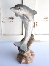 Wood Like Dolphin Figure