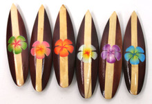 Hibiscus Surfboard Magnets