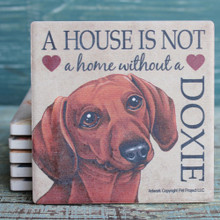 Red Dachshund Coaster