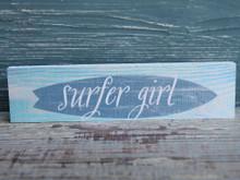Surfer Girl Candy Bar Sign