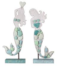 Wood and Rock Mermaids