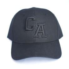 CA Black on Black Hat