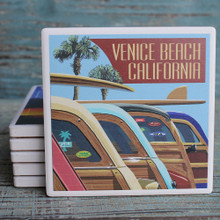 Venice Beach Woody Lineup