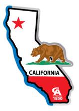 California Flag State Sticker