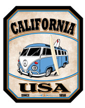 California PCH Bus Sticker