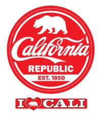 California Cola Sticker