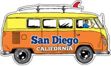 San Diego Bus Sticker