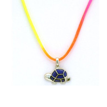 Land Turtle Mood Necklace