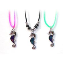 Seahorse Mood Necklace - 1 dozen