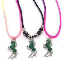 Prancing Unicorn Mood Necklaces