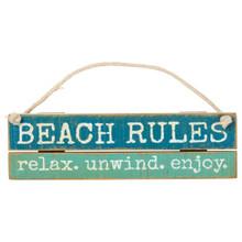 Beach Rules - Relax - Unwind - Enjoy