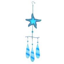 Starfish Metal & Glass Chime