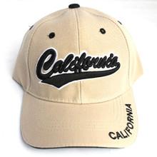 Khaki with Black California Hat