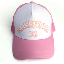 Pink with White CA Hat