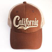Brown California Hat