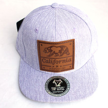 California Republic Patch Lavender Hat