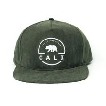 Modern Cali Circle Hat - Olive