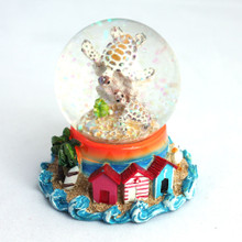 Mini Sea Turtles Snow Globe