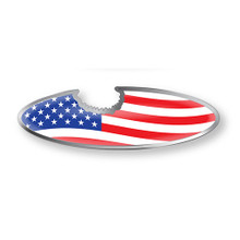 USA Flag Bottle Opener Magnet