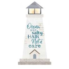 Ocean Air Lighthouse Small Shape Sign