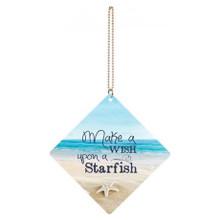 Make a Wish Upon a Starfish Car Charm