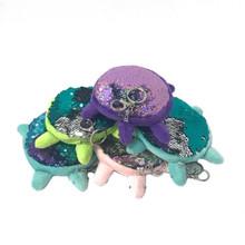 Sequin Turtle Keychains