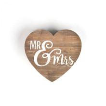 Mr & Mrs Shape Sign