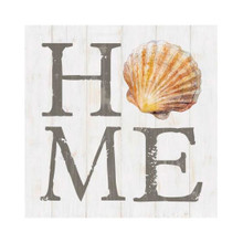 Home Shell Small Block Sign