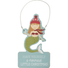 Mermaid Little Christmas Ornament