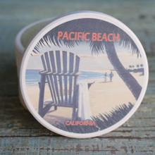 Pacific Beach Adirondack Chair Car Coaster