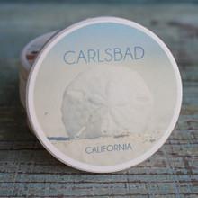 Carlsbad Sand Dollar Car Coaster