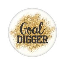 Goal Digger Beachin' Button